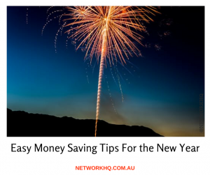 Easy Money Saving Tips for the New Year
