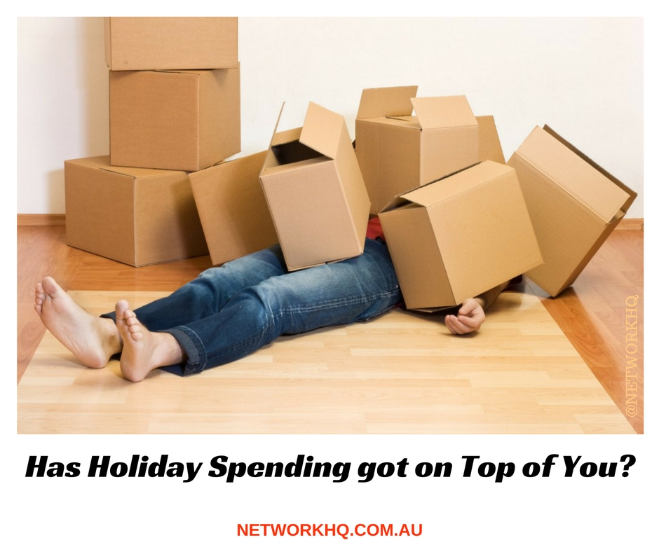 Has Holiday Spending got on Top of You?